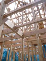 紀州の木材にこだわった構造材|新宿の工務店大栄工業