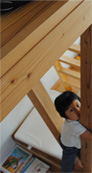 大収納の収納スペースを確保|新宿の工務店大栄工業の注文住宅