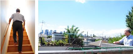 屋上デッキのある家|新宿の工務店大栄工業の注文住宅
