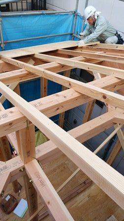 台東区小島の家 新築工事
