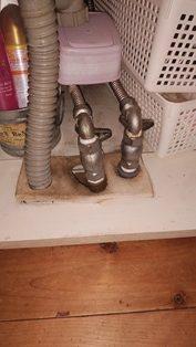 洗面台をリニューアル