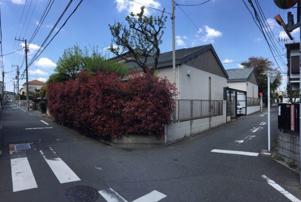 阿佐ヶ谷のフェンス工事